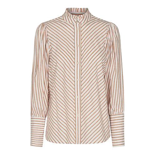 Co´Couture Yvon Stripe Shirt Mustard