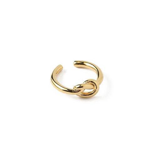 Orelia London Knot Ear Cuff Gold