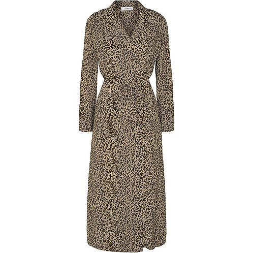 Co´Couture Petit Animal Trench Dress Khaki