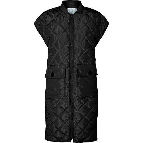 Co´Couture Alberte Quilt Vest Black