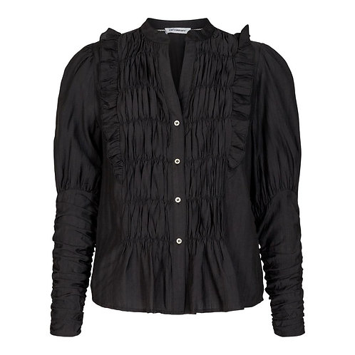 Co´Couture Avery Puff Shirt Black