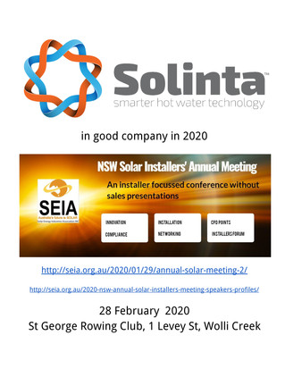 Stephen Garret founder of Solinta will be at SEIA 2020 Solar Installers Conference
