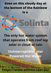 Solinta solar PV hot water system always produces even on cloudy sun-less days !