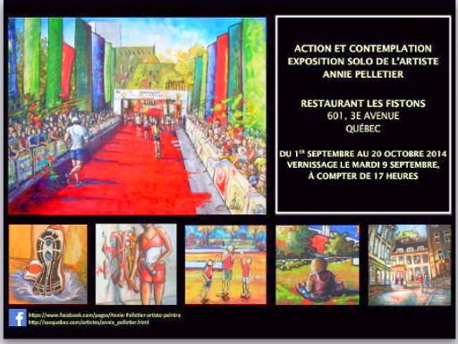 Exposition solo Action et contemplation