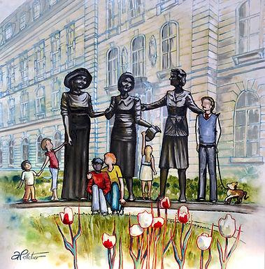 Des oeuvres qui donnent des ailes, au Parlement de Québec