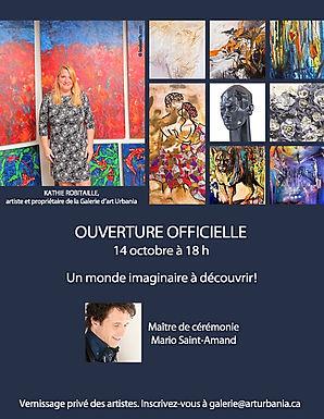 Ouverture officielle de la galerie Urbania