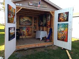 Rendez-vous des artistes, St-Léonard, Nouveau-Brunswick