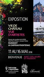 """Exposition collective """"Vie de château, vue d'artistes"""""""