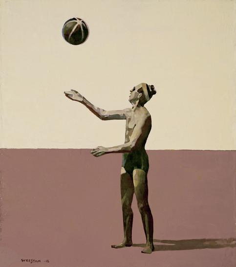 herman med boll