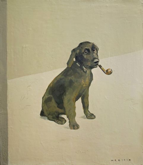 hund med pipa