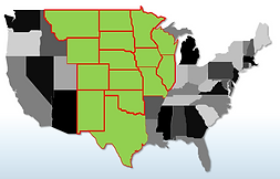 Calibration Services covering the Central United States