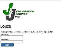 Access to Online Calibration Certificates