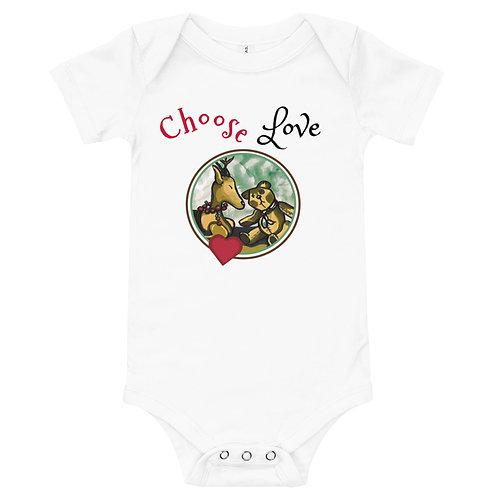 Choose Love Baby Body Suit