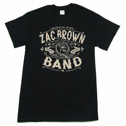 Zac Brown Band American Made Black T Shirt