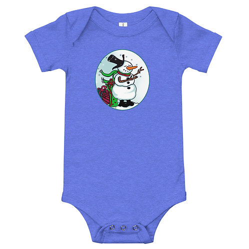 Baby One Piece Magical Snowman