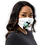 "Thumbnail: Premium face mask ""Magical Snowman"""