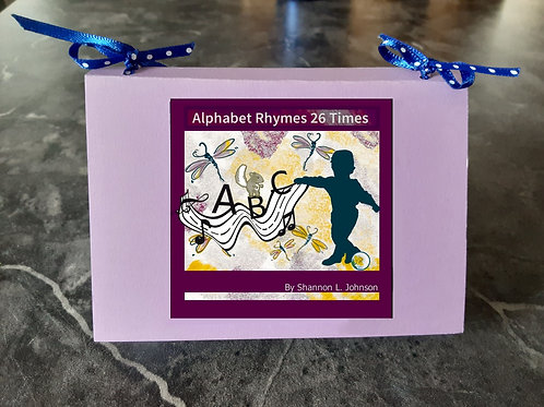 """Make Your Own Mini Book, ""Alphabet Rhymes 26 Times"" PDF Download"""
