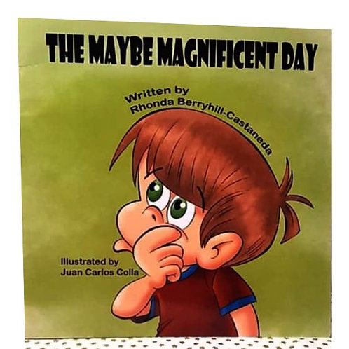 """""""The Maybe Magnificent Day"""" Paperback Book"""