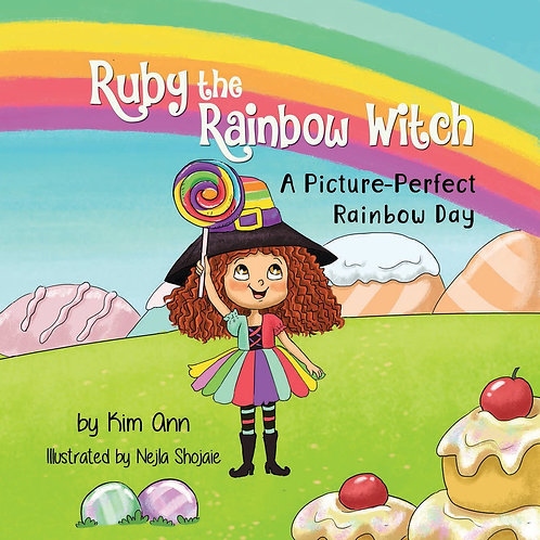 """""""Ruby The Rainbow Witch"""" Children's Book"""