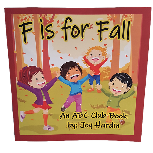 """""""F is for Fall"""" Children's Book"""