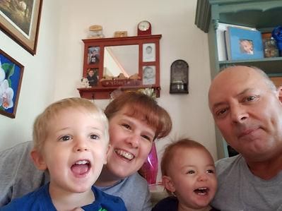 Shannon and Jeff Johnson and Grandchildren