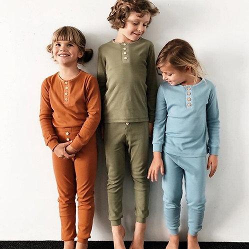 Boys or Girls long sleeve pajama set