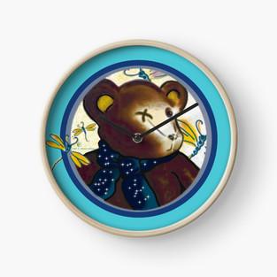 Bearable Cuteness Wall Clock