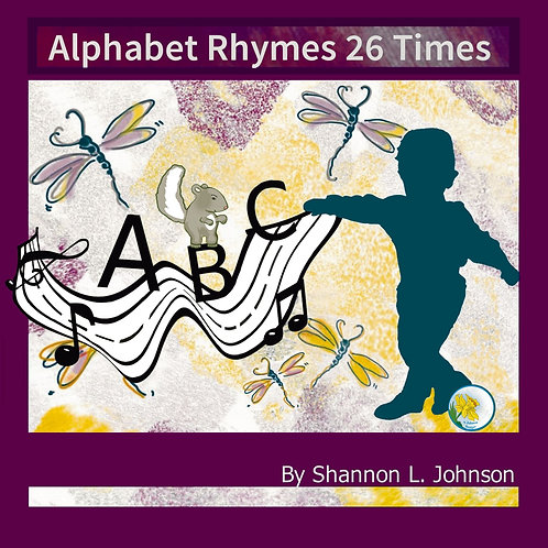 """Alphabet Rhymes 26 Times"" Children's Book"
