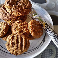 Chewy Molasses-Prune Cookies