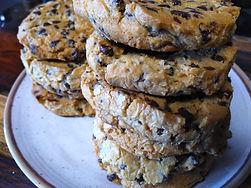 Toasted Walnut Chocolate Cherry Cookies