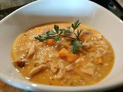 Thai Chicken & Rice Soup