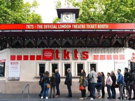 Taquilla icónica de TKTS en Londres cerrará de forma indefinida tras crisis global.