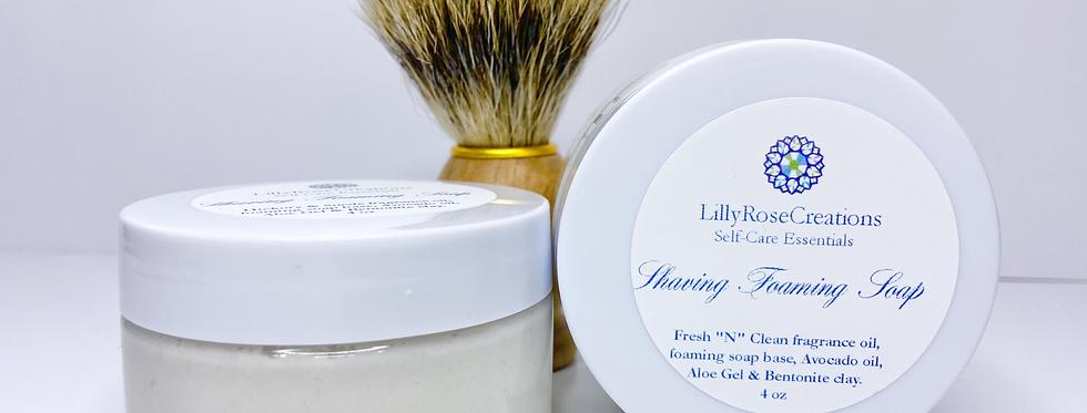 Shaving Foaming Soap ~Vetiver