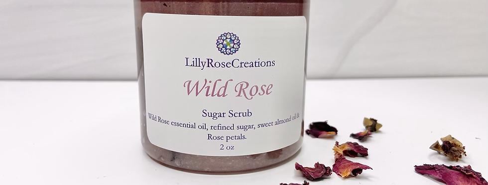Sugar Scrub~Wild Rose