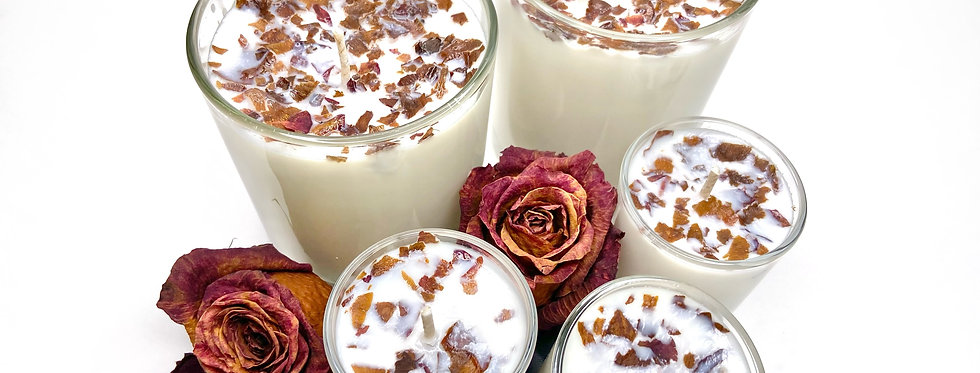 Candle~Wild Rose