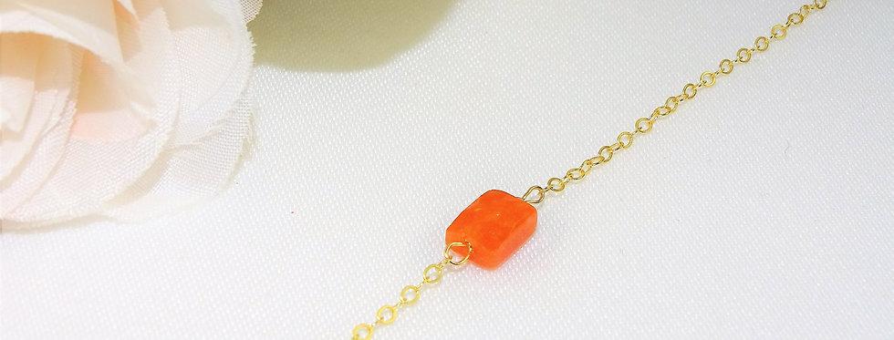 Carnelian Petite Gems Bracelet
