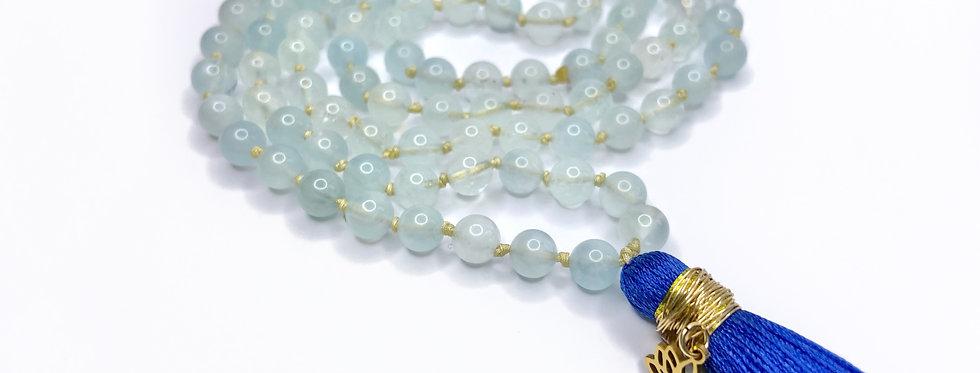 Aquamarine Mala