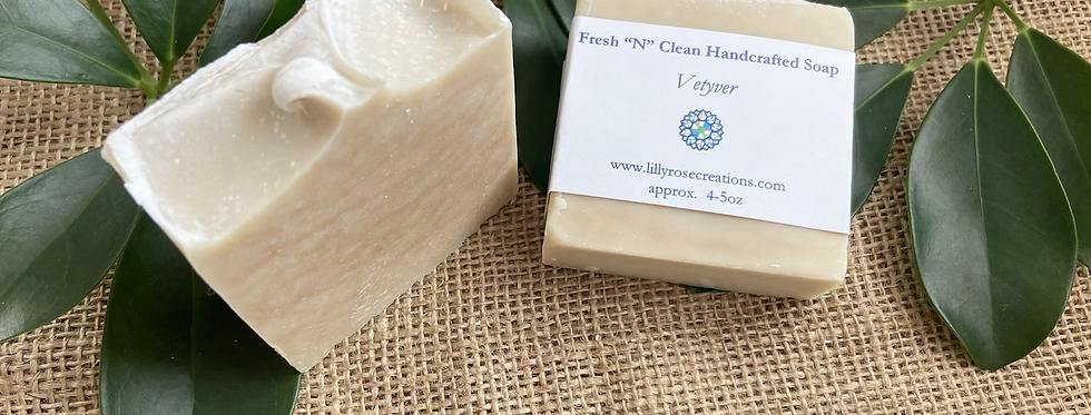 Body Soap ~ Vetiver
