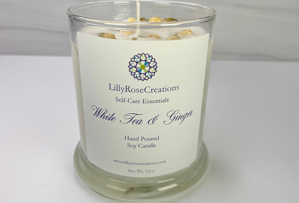 Candle~White Tea & Ginger
