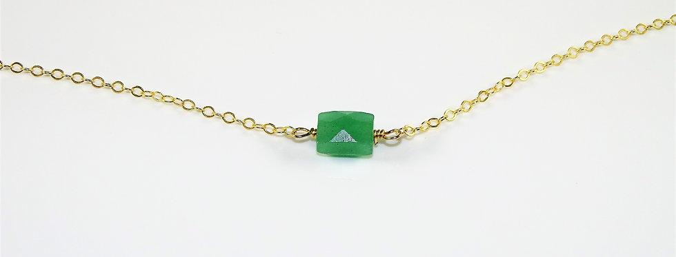 Petite Gems Aventurine Necklace