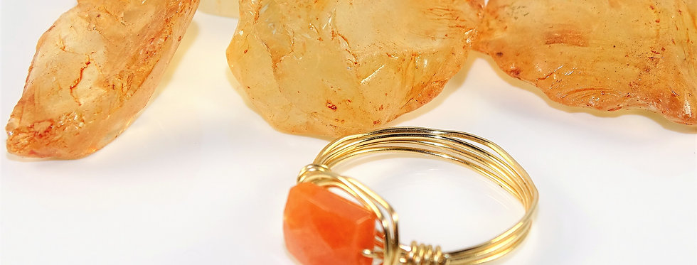 Carnelian Petite Gems Ring