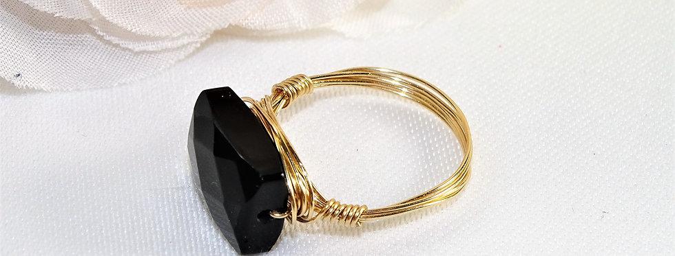 Onyx Midi Gems Ring