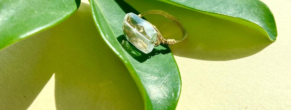 Crystal Quartz Petite Gems Ring
