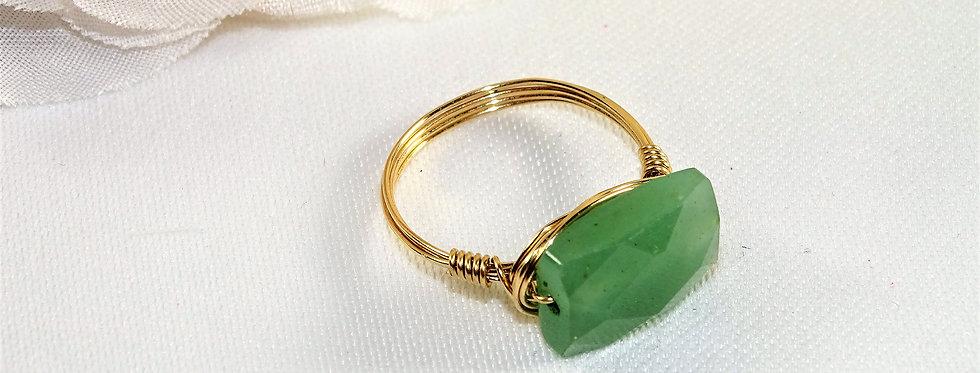 Aventurine Midi Gems Ring