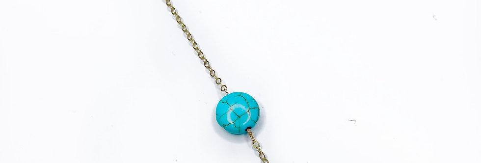 Turquoise Circle Me Bracelet