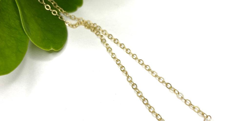 Peridot Tear Necklace