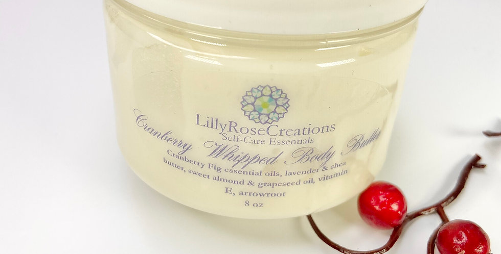 Whipped Body Butter~Cranberry