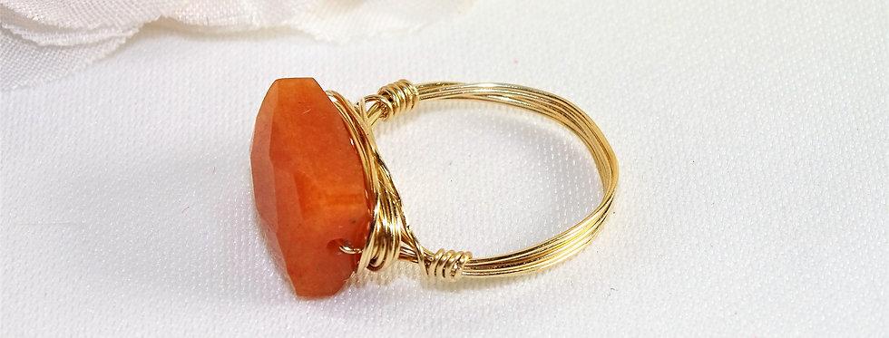 Carnelian Midi Gems Ring