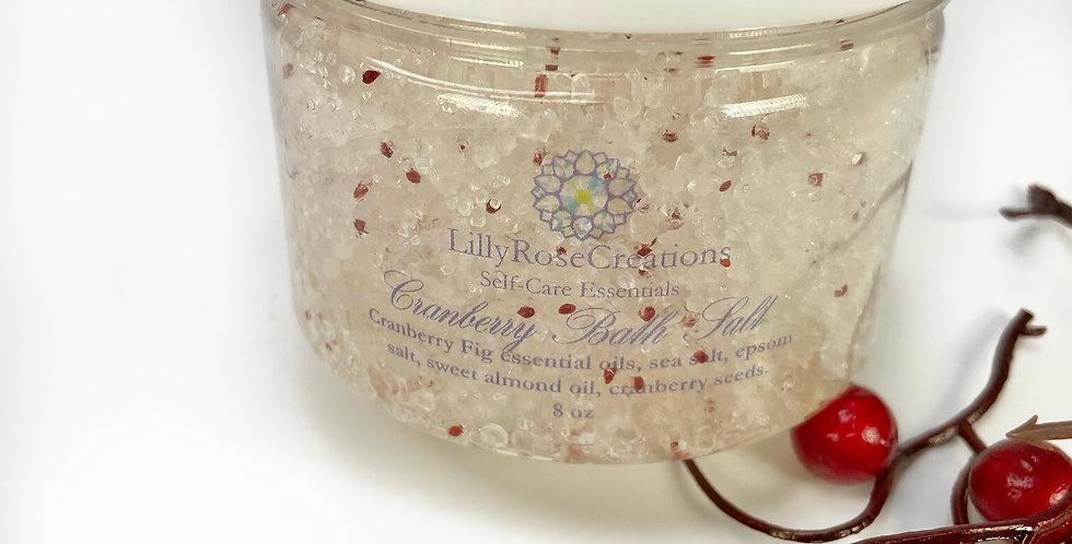 Bath Salts~Cranberry