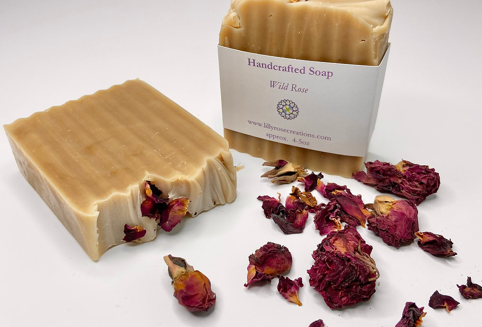 Body Soap ~ Wild Rose